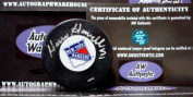 Autograph Warehouse 11413 Harry Howell Autographed Hockey Puck New York Rangers
