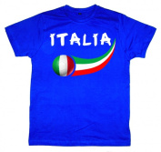 Supportershop WCIT6Y Italy Soccer Junior T-shirt 6-7 years
