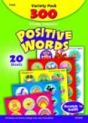 Trend Enterprises 2.5cm . Stinky Sticker Positive Words Value Pack Sticker Pack 300