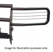 GO IND 33751B Grille Guard Winch System - Black