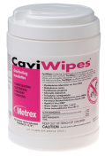 Metrex 13-1100 Cavi Wipes Canister of 160 Towelettes