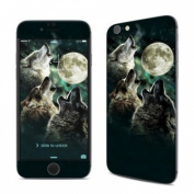 DecalGirl AIP6-TWOLVES Apple iPhone 6 Skin - Three Wolf Moon