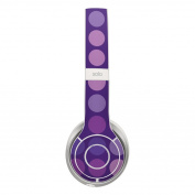 DecalGirl BSO2-DOTS-BIG-PRP Beats Solo 2 Skin - Big Dots Purple