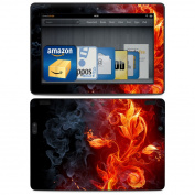 DecalGirl AKX8-FLWRFIRE Amazon Kindle HDX 8.9 Skin - Flower Of Fire