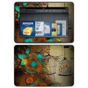 DecalGirl AKX7-RLACE Amazon Kindle HDX Skin - Rusty Lace