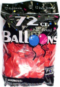 Tablemate Products 127212 72 Count Red Helium Balloon