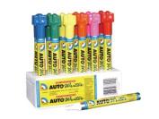 U. S. Chemical and Plastics 37008 Cs - 12 Auto Writer Pens Red