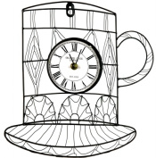 Pinnacle Strategies Llc J22602-BHYGPB Metal Mug Wall Clock