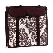 Travelon 237505 Travelon Hanging Handbag Organiser - Set of 2 -Chocolate Damask