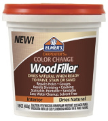 Elmers E914 470ml Colour Change Natural Interior Wood Filler