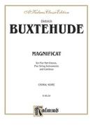 Alfred 00-K06134 Buxtehude Magnificat Anima Measet4D Book