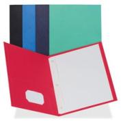 Business Source BSN78508 2-Pocket Folders 100 Sh Cap Ltr 24cm . x 28cm . 25-BX DBE