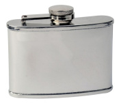 FJX Wholesale HFL-MC003 90ml Mirrored Stainless Hip Flask