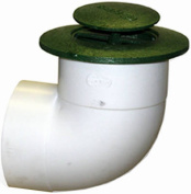 NDS 322 7.6cm . Centre Drive Polyolefin Pop Up Drainage Emitter