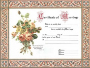 B & H Publishing Group 465115 Certificate Marriage 4 Colour