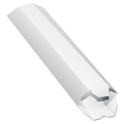 Quality Park Products 46009 Expand-on-Demand Mailing Tube White 2 to 4 3/4 x 24