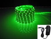 LED2020 LD-SP-G-WR-SET Plug-N-Play Waterproof Green LED Flexible Light Strip