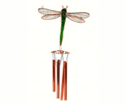 Gift Essentials GE145 Green Dragonfly Wind Chime