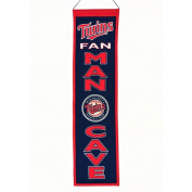 WinningStreakSports 49116 Minnesota Twins Man Cave Banner