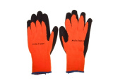 Seattle Glove ARCTIC-OR-L 10 Gauge High Visibility Knitted Glove Black Large - Pack of 12
