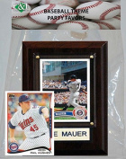 Candlcollectables 46LBTWINS MLB Minnesota Twins Party Favour With 4 x 6 Plaque