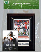 Candlcollectables 46LBBRONCOS NFL Denver Broncos Party Favour With 4 x 6 Plaque