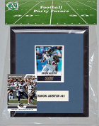 Candlcollectables 67LBRAMS NFL St. Louis Rams Party Favour With 6 x 7 Mat and Frame