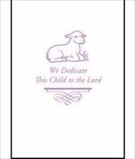 Warner Press 306298 Booklet Baby Dedication Programme & Certificate
