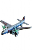 SHAN MF107 Collectible Tin Toy - Plane