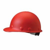Fibre-Metal 280-P2HNRW15A000 Roughneck P2 Protective Cap With High Heat And Ratchet Suspension Red