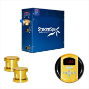 Steam Spa OA1050GD Steam Spa Oasis Package for Steam Spa 10.5kW Steam Generators; Polished Brass