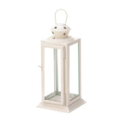Zingz & Thingz 57071040 Starlight White Candle Lantern