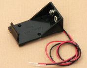 Olympia Sports 16892 Battery Holder With Wires - 9V Cell - Single