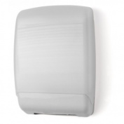 E-Z Taping System TD0179-03 Plastic Multifold Towel Dispenser in White