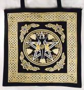 AzureGreen RB74ETP Pentagram Goddess Tote Bag