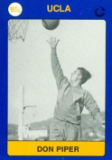 Autograph Warehouse 102526 Don Piper Basketball Card Ucla 1991 Collegiate Collection No. 79