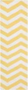 Surya Rug FT278-268 Runner Bright White Rug 0.6m x 2.4m
