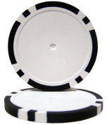 Brybelly Holdings CPBL14-BLACK-25 Roll of 25 - Black Blank Poker Chips - 14 Gramme