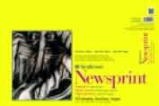 Strathmore 30cm x 46cm . 300 Tape Binding Heavy Weight Newsprint Pad 50 Sheets