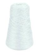 Trait-Tex 240ml Acrylic 4-Ply Double-Weight Yarn Refill Cone - 315 Yd. Dispenser Box White