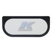 K-SOURCE V114 Vanity Mirror Black Un-Lighted