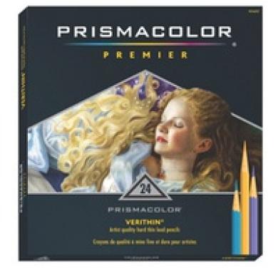 Prismacolor 796 Verithin Coloured Pencils Prisma 12 Set Thin
