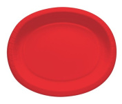 Touch of Colour 433548 30cm . Oval Platters Classic Red - Case of 96