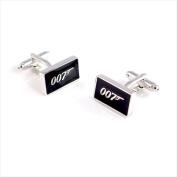 Best Desu 170351SV James Bond 007 Cufflinks