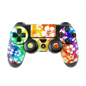 DecalGirl PS4C-ALOHA-SWL Sony PS4 Controller Skin - Aloha Swirl