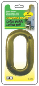 Hy-Ko Products BR-42PB-0 10cm . Solid Polished Brass Prestige Series House Number 0