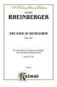 Alfred 00-K06395 RHEINBERGER STAR BETHLEHEM V