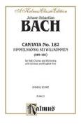 Alfred 00-K06623 Bach Cantata No. 182 Book
