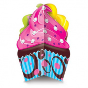Beistle 54670 3-D Cupcake Centrepiece Pack Of 12
