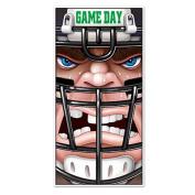 Beistle 54696 Football Door Cover Pack Of 12